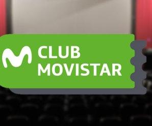 2×1 en cines con Club Movistar