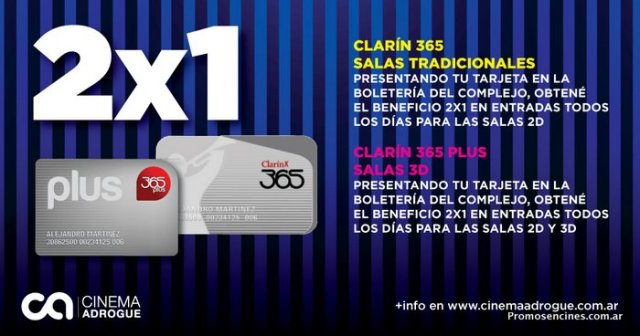 Cablevision promociones cine cinemark