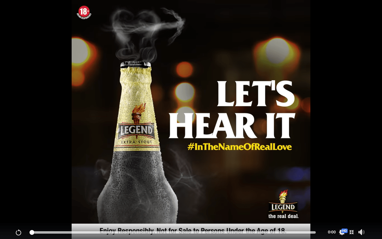 Legend Nigeria Valentine Contest #InTheNameOfRealLove, Win N15K Shopping Voucher.
