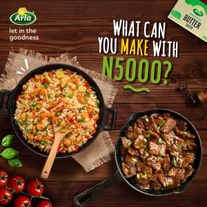 Arla Nigeria N5000 Cash Giveaway !!!