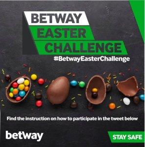 Win N150k or N100K in Betway Nigeria Easter Challenge.