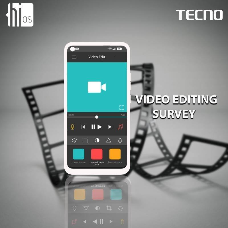 "Win Prizes in HiOS Tecno ""Stay At Home Video Editing Survey"" !!!"