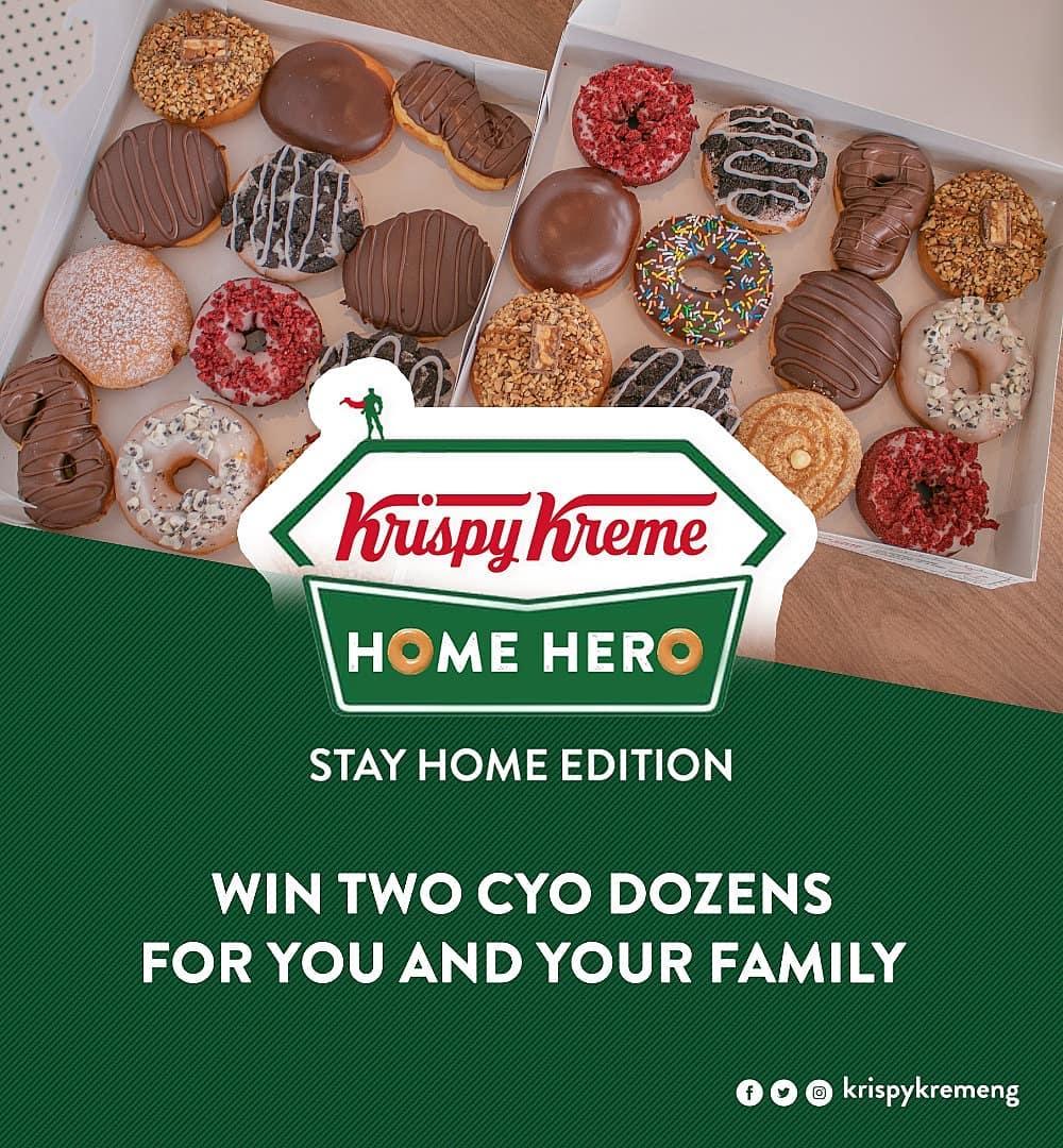 Win 2 Dozens of Krispy Kreme Doughnuts