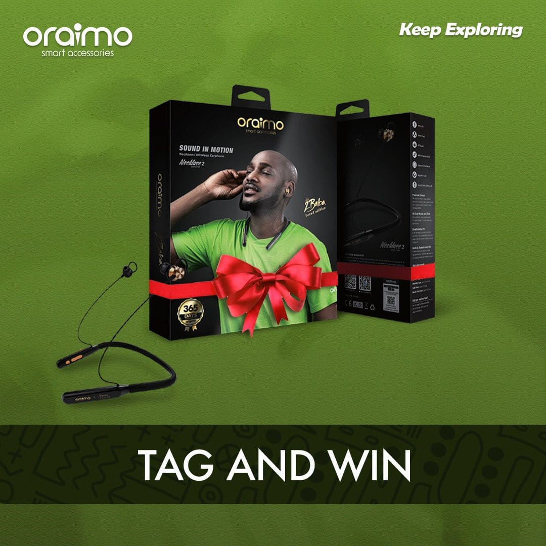 Win 2Baba Tuned Edition Earphones This Easter in Oraimo Easter Giveaway!