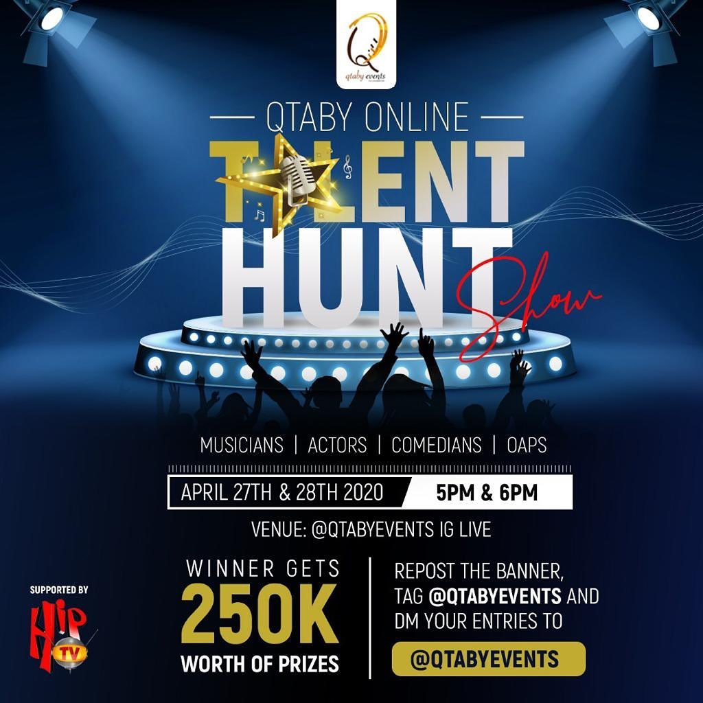 Win 250K In Qtaby Events Talent Hunt Show.