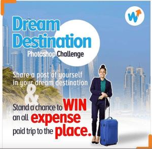 Win a Free Return Ticket to your Dream Destination Courtesy of @wakanowdotcom.