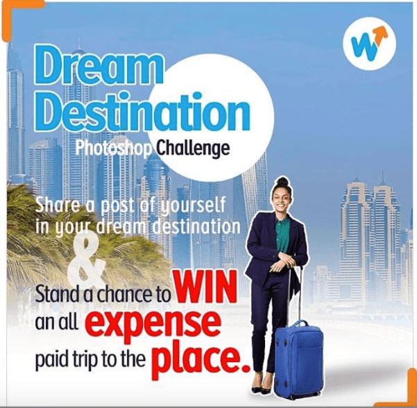 Win a Free Return Ticket to your Dream Destination Courtesy of @wakanowdotcom.