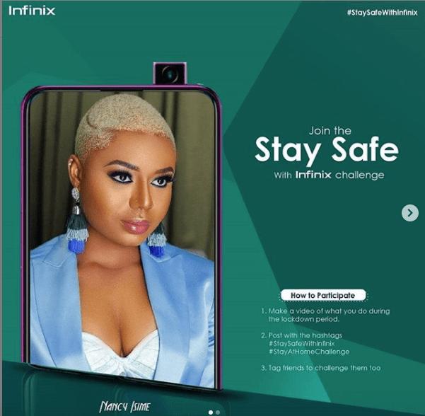 Infinix Mobile #StaySafeWithInfinix  #StayAtHomeChallenge9ja