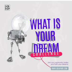 "Win Business Funding in Ideapard ""What is Your Dream Challenge""."