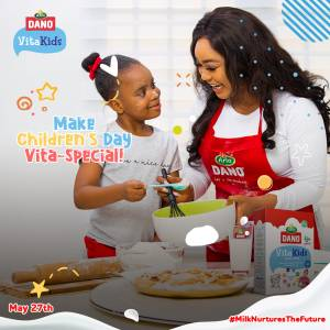 Win Prizes in Dano Vitakids Childrens' Day Challenge.