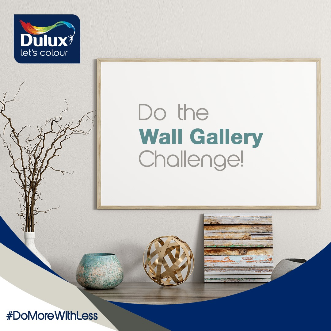 "Win N15,000 in Dulux Nigeria ""Do The Wall Gallery Challenge""."