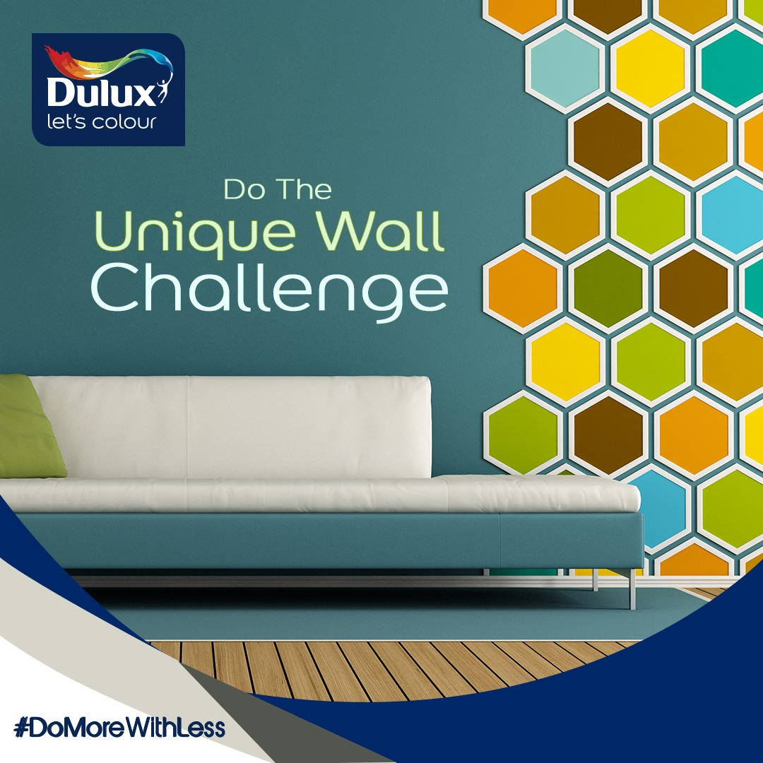 Win Prizes in Dulux Nigeria Wall Challenge