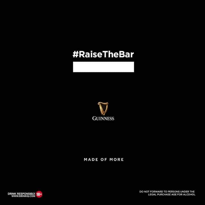 Nominate a Bar Tender to Win in Guinness #RaiseTheBarNominee Challenge.