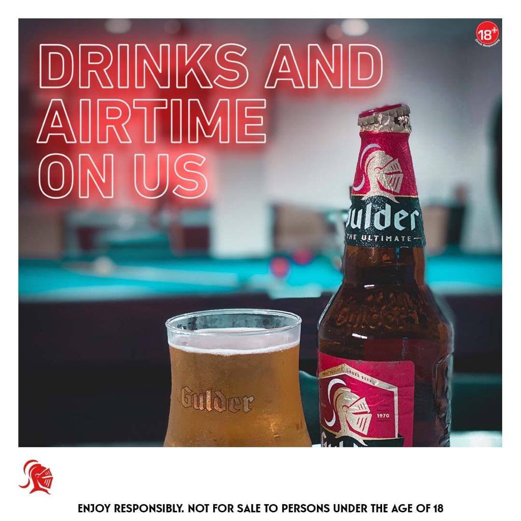 Win Airtime and Drinks in Gulder Nigeria #GUSTrivia.