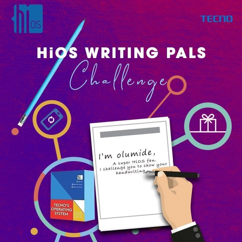 HiOS #WritingPalsChallenge, Win Loads of Airtime, Data Bundles etc