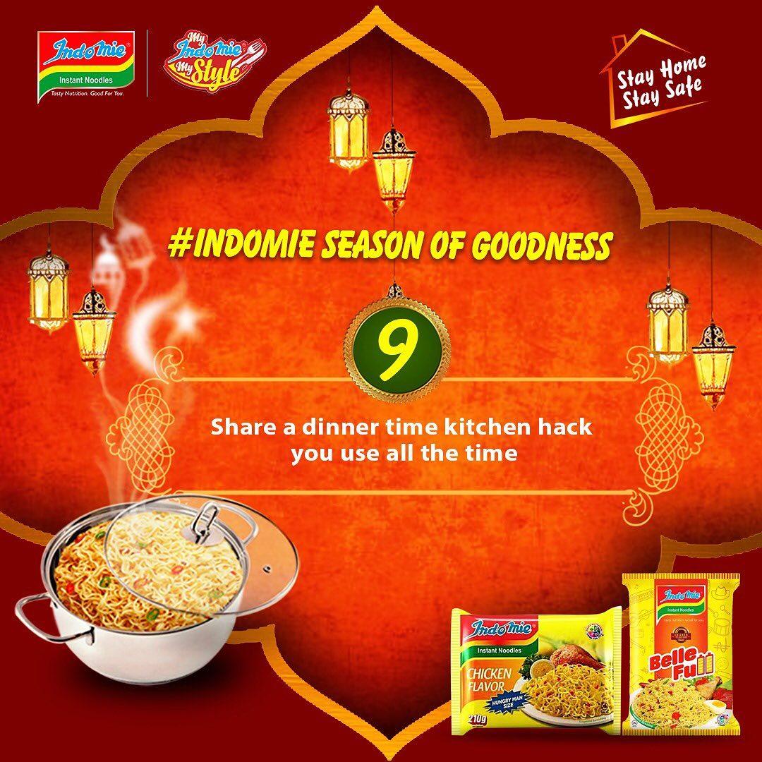Indomie Season of Goodness Challenge 9