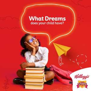 #KelloggsDrawYourDreamsContest, Win a Year Supply of Kelloggs Products.