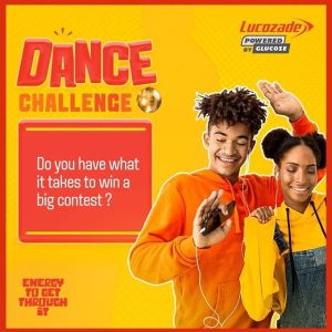 """Win Fantastic Prizes in """"Lucozade Dance Challenge""""."""