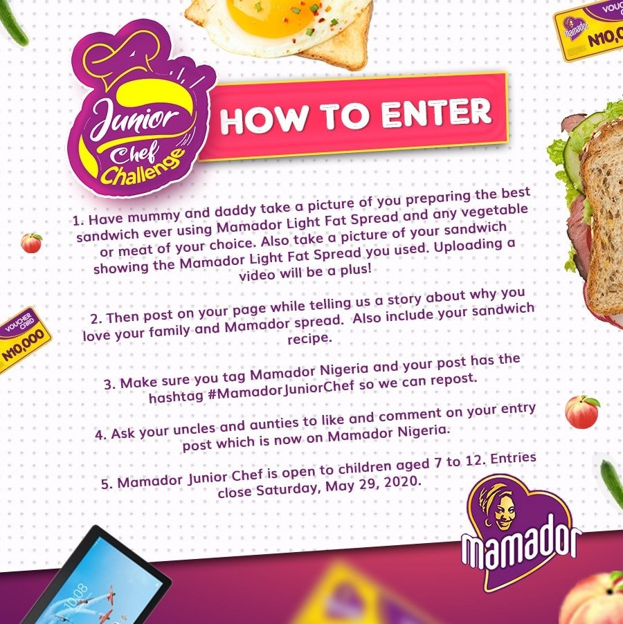 Mamador Childrens Day Giveaway