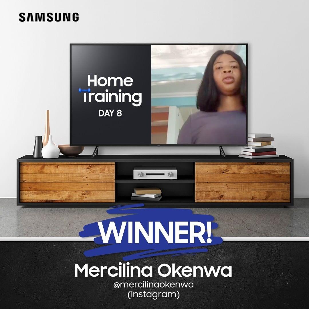 Meet The Final Winner of Samsung Home Training Challenge