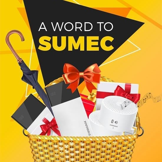 """Join """"A Word To SUMEC Campaign"""" and Win Loads of Prizes."""