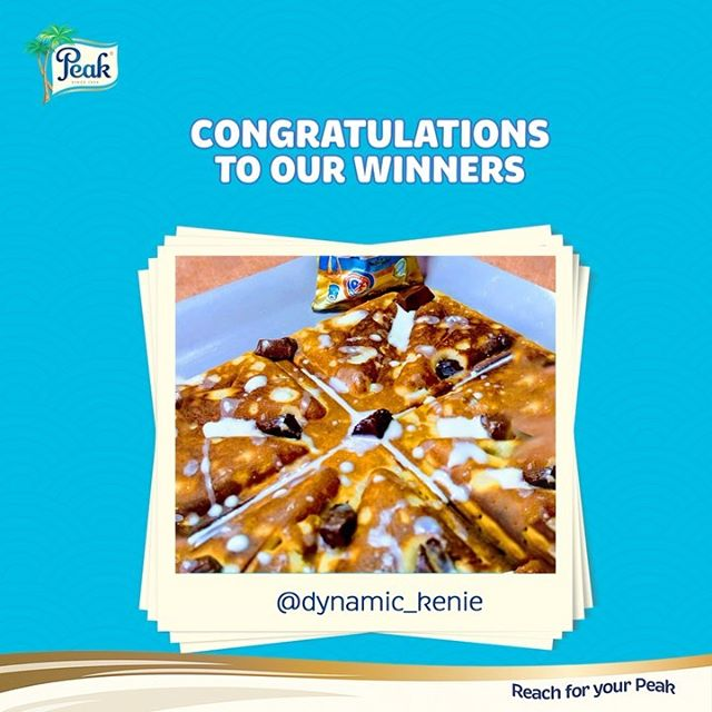 Winners of #PeakBreakfast Competition.