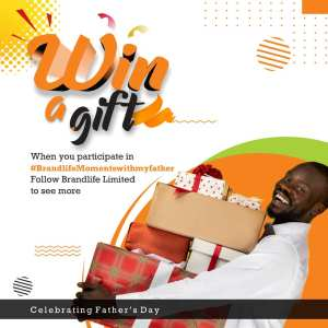 Join The #BrandLifeMomentsWithMyFather Giveaway.