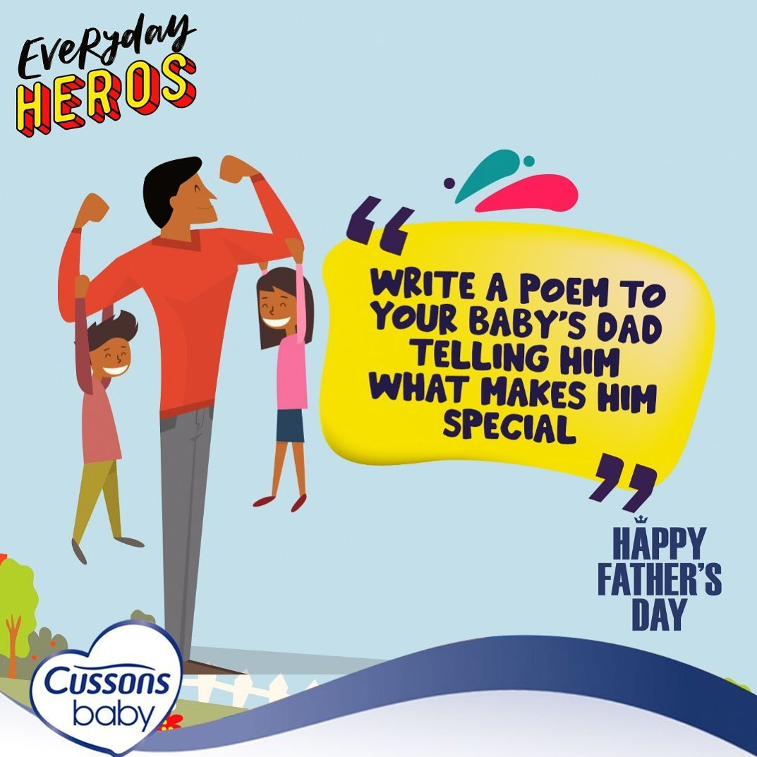 Cussons Baby Fathers Day Giveaway.