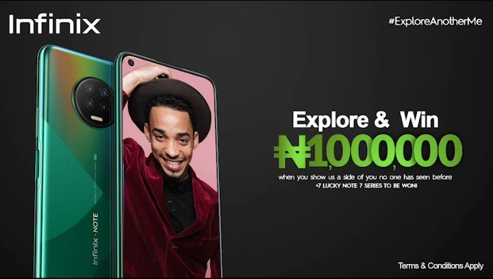 Explore and Win N1Million With Infinix Mobile Nigeria.