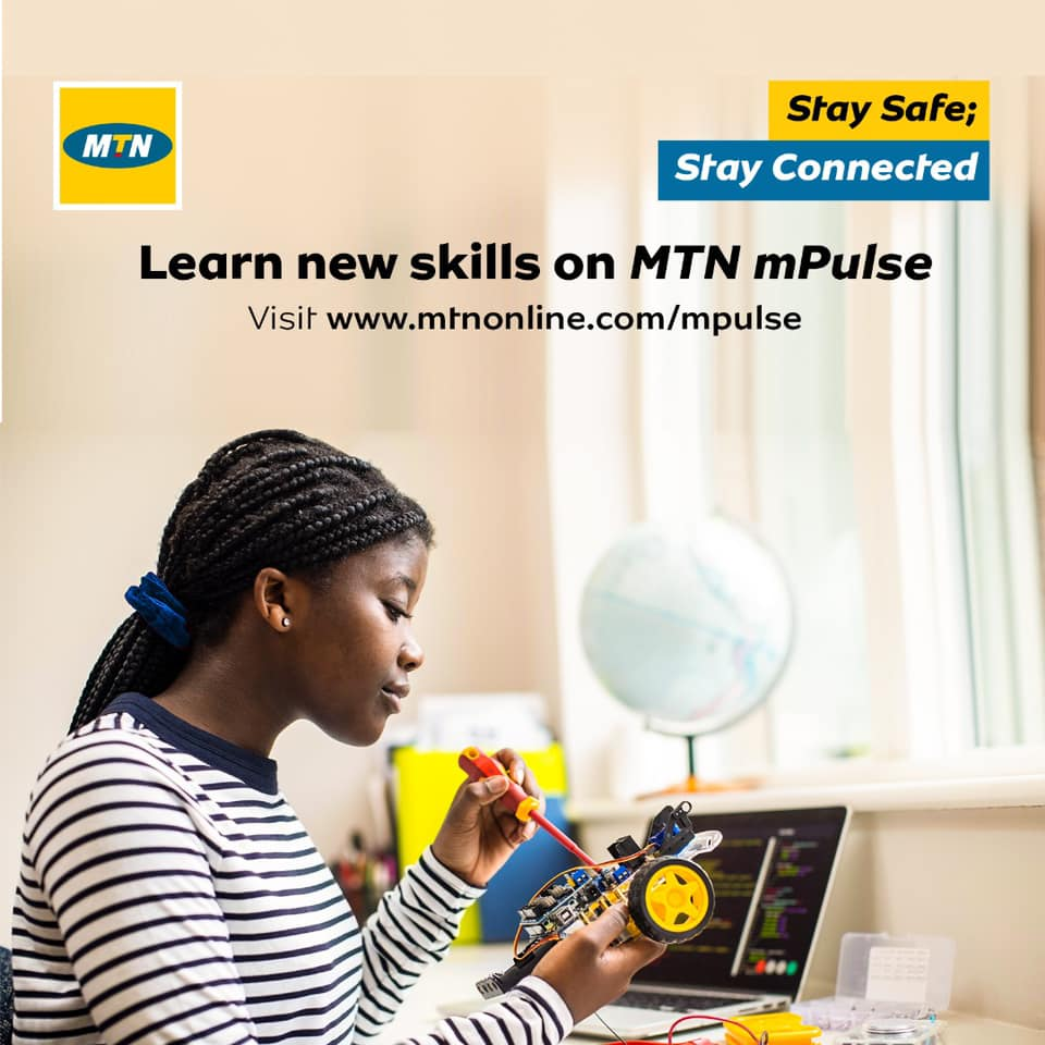 Learn New Skills Online on MTN mPulse