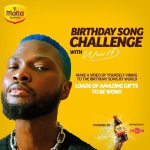 Goodies For Grabs in Malta Guinness Birthday Song Challenge With Wurld.