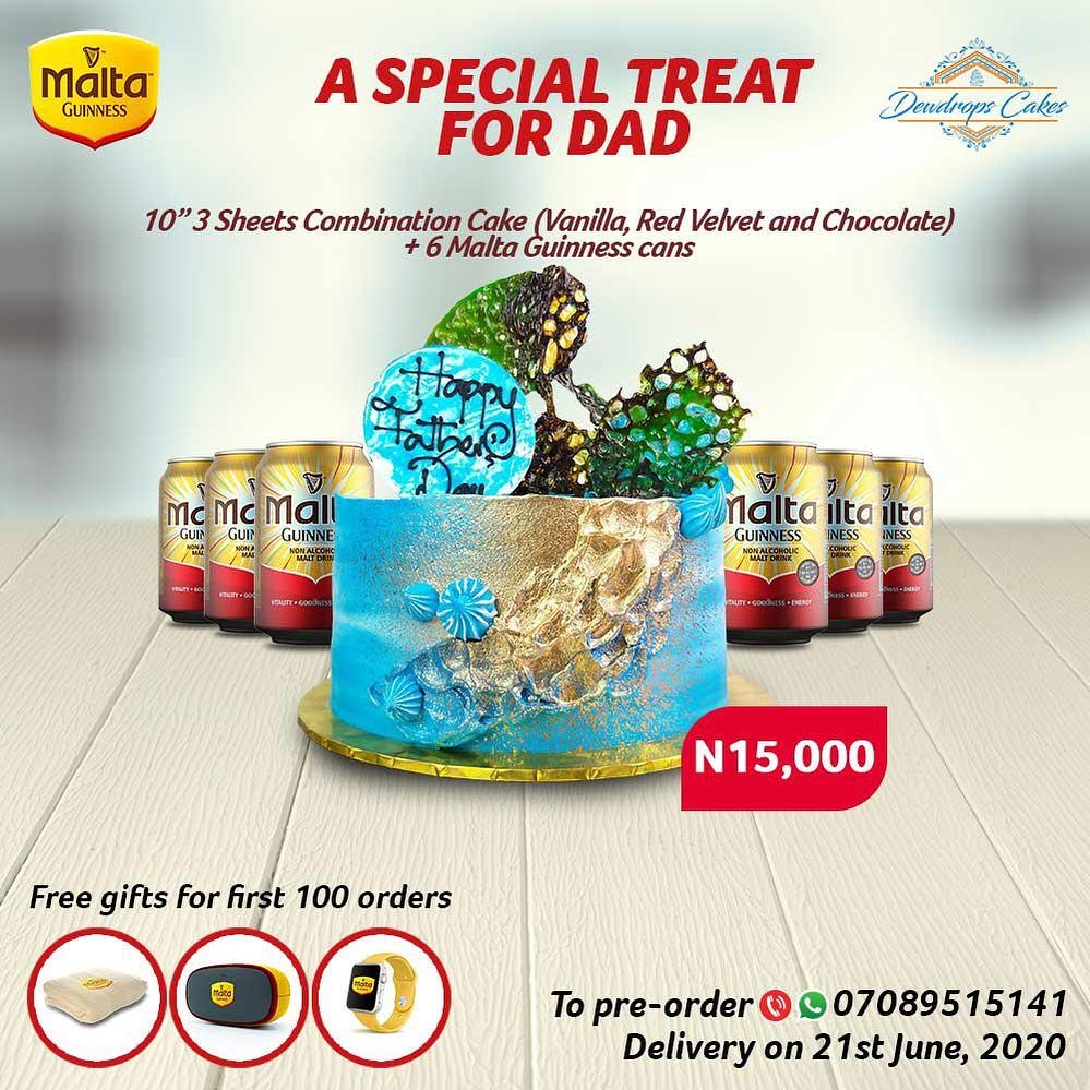 Malta Guinness Father's  Day Giveaway.