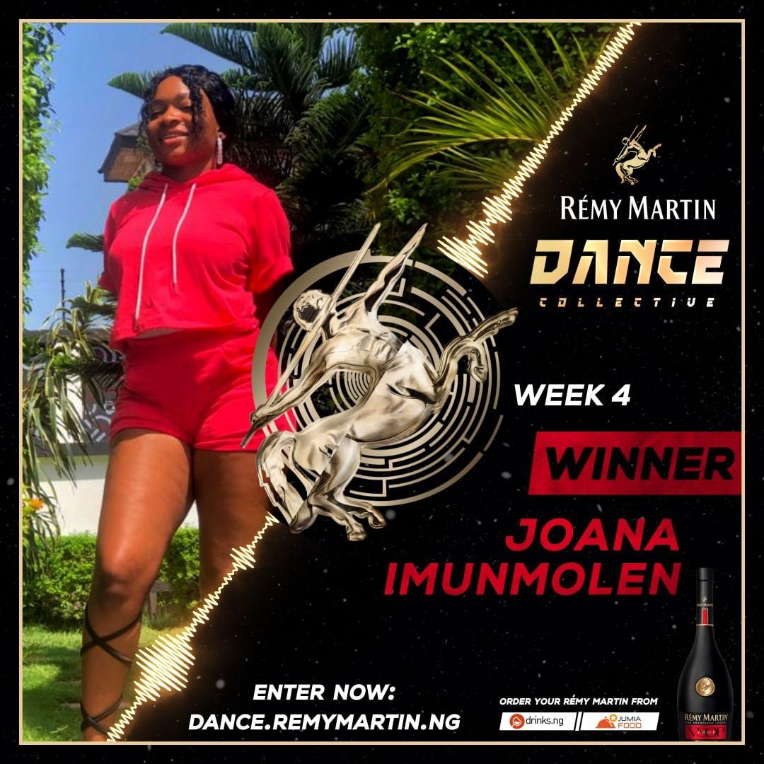 Meet The Week 4 Winner of Remy Martin Dance Collective.