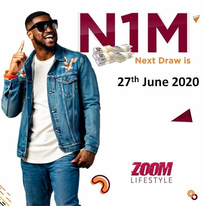 SafeMillionaire Winners in Zoomlifestyle By Peter of Psquare. Next Draw 27th June