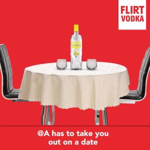 Win an All Expense Paid Date For You and Someone Special, Sponsored by Flirt Vodka