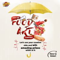 Win Amazing Prizes in Mr. Chef Food Art Contest.