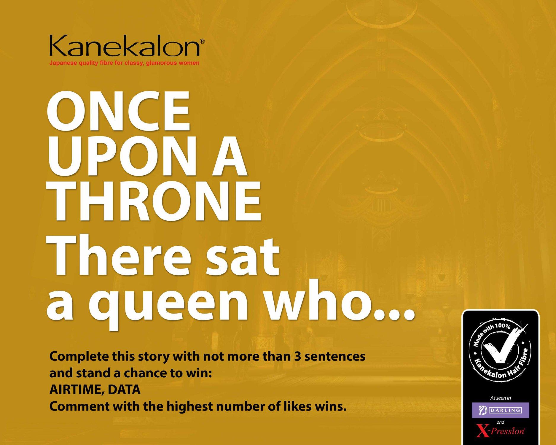 Kanekalon Airtime and Data Giveaway.