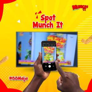 Spot Munch IT on BBNaija And Win Prizes.