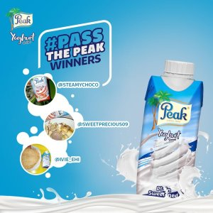 Peak Yogurt #PassThePeak Winners Announced.