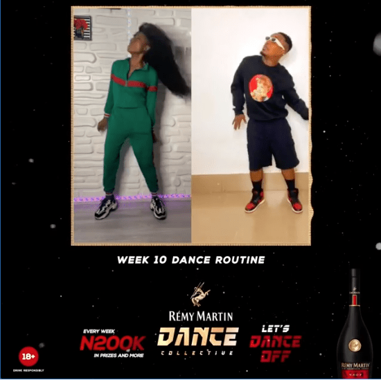 N200K For Grabs in Remy Martin Dance Collective Week 10.
