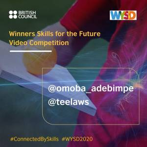 Winners of British Council Skills For the Future Video Competition.