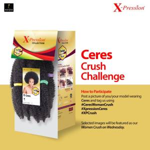 Join the X-Pression Ceres Crush Challenge and Get Featured.