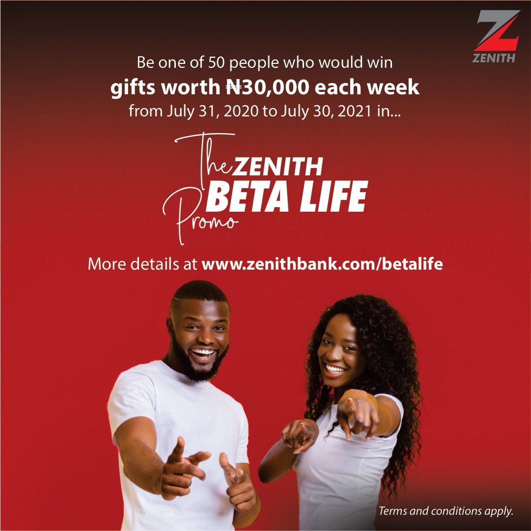 Join the Zenith Beta Life Promo and Win Loads of Cash Prizes.