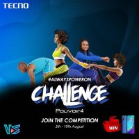 Join the Tecno Always Power On Challenge to Win a Brand new phone and lots of other prizes.