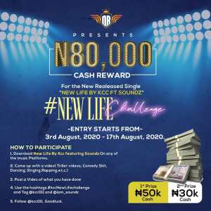 Join The #KCCNewLifeChallenge and Win N80,000.