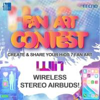 Win Prizes in HiOS Global Fan Art Contest.