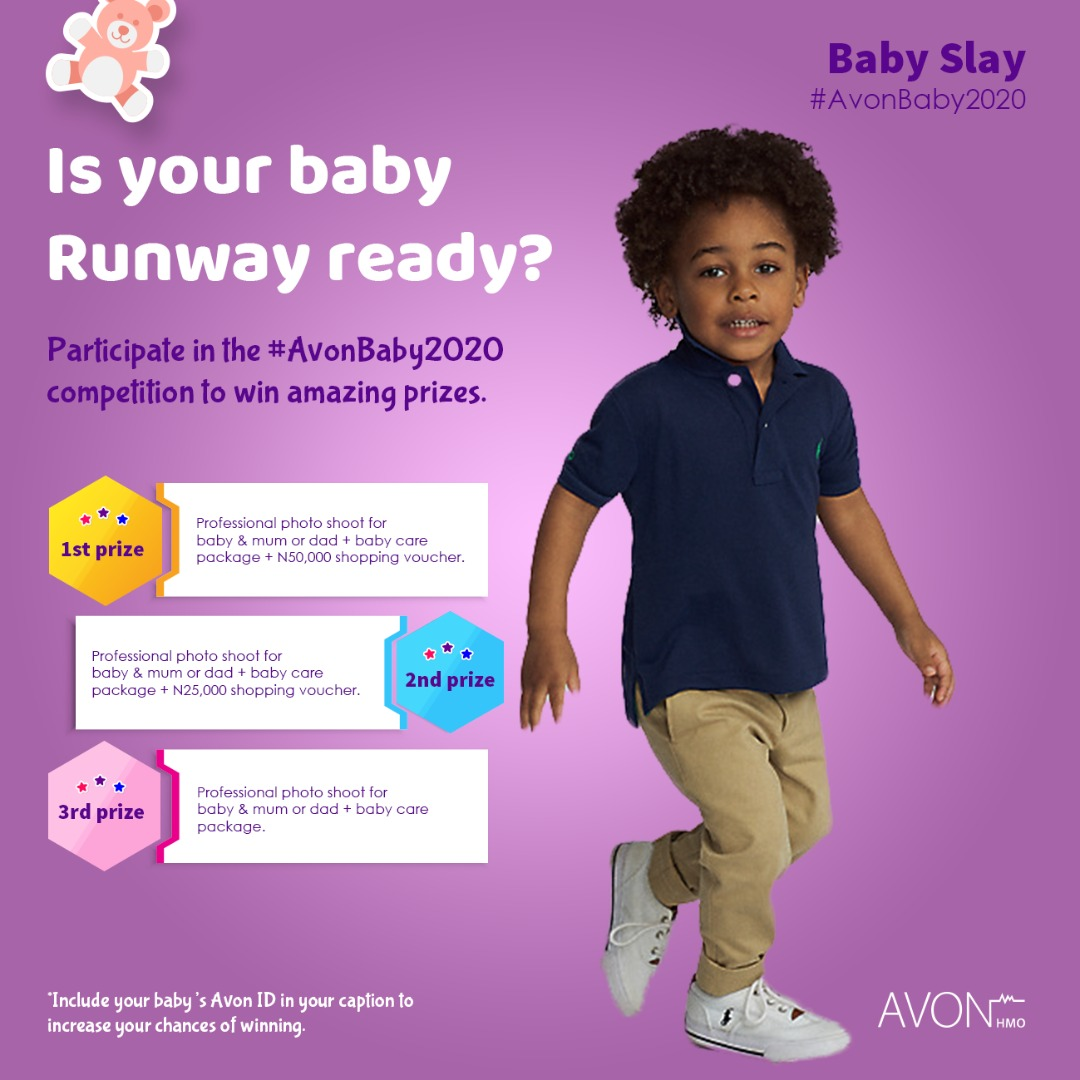 URGENT: Join the #AvonBaby2020 Contest, Ending Today.