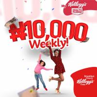 Win 10,000 Naira Weekly In #MyKelloggsHealthPledge Contest.