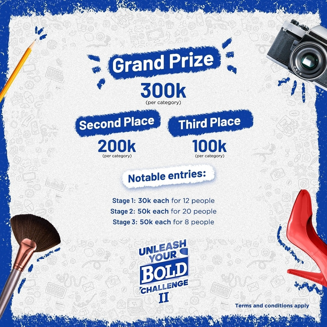 "N4Million For Grabs as Bold Nigeria ""Unleash Your Bold Challenge"" Ends on 9th November. Have you Submitted yours?"