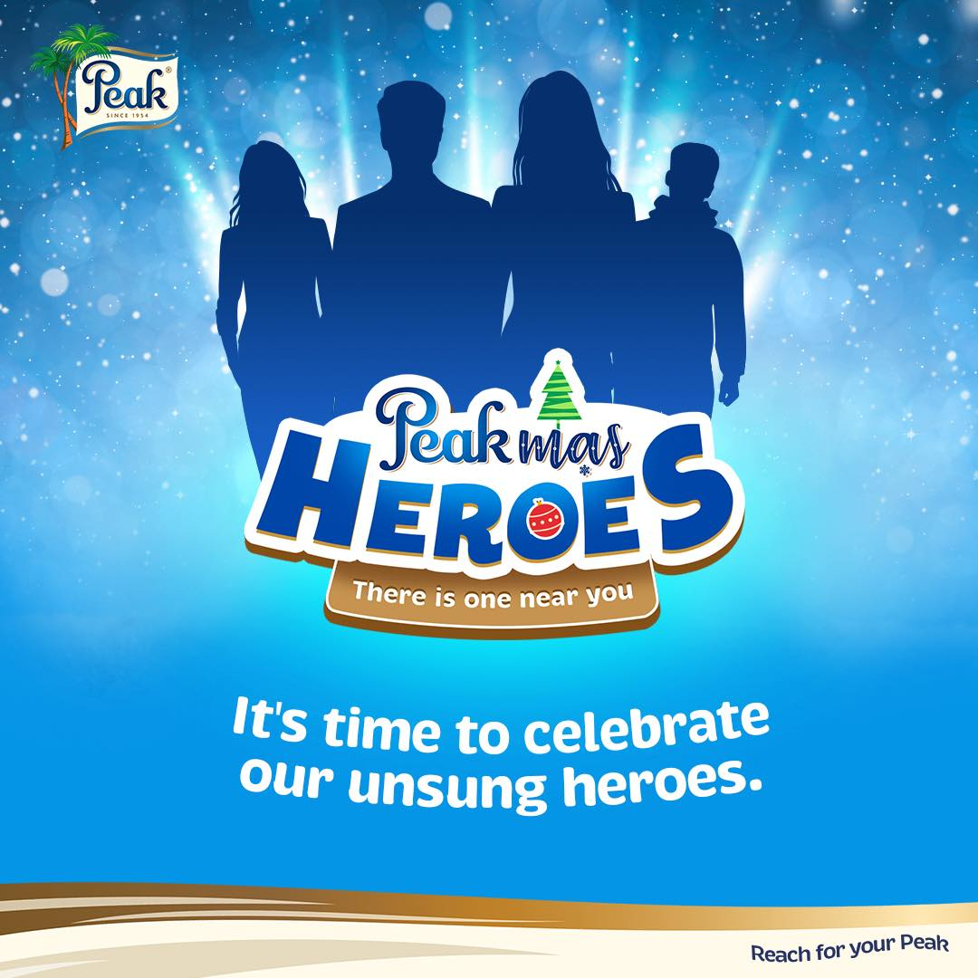 Nominates 2020 Heroes to Win Prizes in #PeakMasHeroes Giveaway.